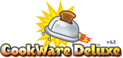 CookWare Deluxe Recipe Software